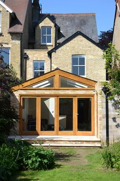 Simply beautiful conservatory, a mix of stone and european oak. With this beautiful summer weather just swing back the bifold doors and enjoy the sunshine!