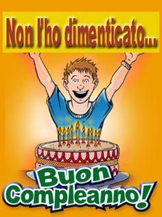 BUON COMPLEANNO, GIF, CARD E SCRITTE ANIMATE E NON - HAPPY BIRTHDAY Happy Birthday, Comic Books, Photoshop, Messages, Home, Pictures, Birthdays, Deco, Happy Brithday