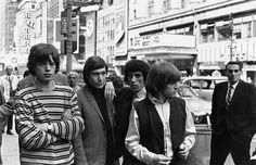 """""""The Rolling Stones in New York, June 1964.""""(Getty)"""