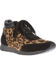 YOHJI YAMAMOTO Leopard Print Sneaker