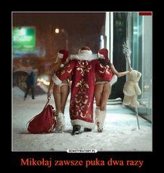 Mikołaj zawsze puka dwa razy