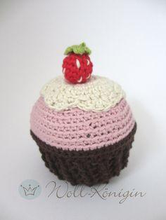 Cupcake gehäkelt