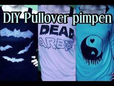 DIY: Pullover pimpen (Pastel Goth inspiriert)