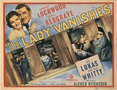 """""""The Lady Vanishes"""" Alfred Hitchcock movie"""