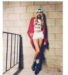 Shop this look on Kaleidoscope (shirt, shorts, sweater, hat) http://kalei.do/WyLLOa1DZ6A2iN98