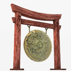 Ancient Asian Gong