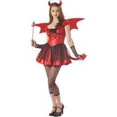 teenage halloween costumes | Devil Doll Teen Costume - Girls Halloween Costumes - Free Shipping