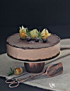 No-Baked Milo Chocolate Cheesecake 免烤美綠巧克力乳酪蛋糕   Anncoo Journal - Come for Quick and Easy Recipes