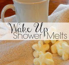 wake up shower melts