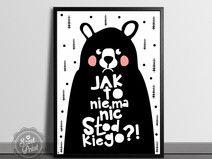 Jak to Miś - 50x70