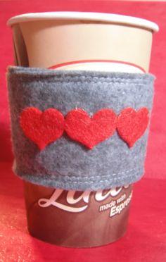 Sweet coffee cozy