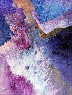 Sharon Blair Art and Design: Cascade    www.sharonblair.com.au     - Art For Inspired Interiors           -  Mixed Media Artwork: Organic Abstract