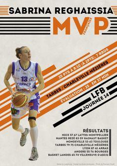 Sabrina Reghaissia - MVP Française - LFB Journée #14