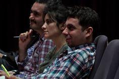 """Generación de dramaturgos 2014, durante Clase Magistral de Vivi Tellas """"Biodrama. La dramaturgia del destino"""" en Museo MALBA (14 de Julio) foto: Ernesto Donegana"""