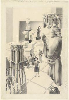Peter Blume. Museum. 1932