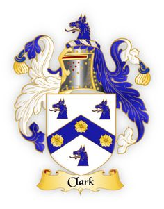 The Clark Family Crest - meanings