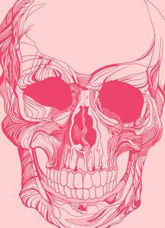 Mr. Skull by David Waters, via Behance