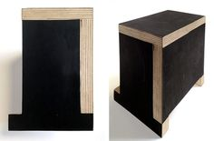 A.P.C. Wood Joinery Sample by Face Design + Fabrication