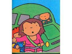 Anna in het verkeer. Digitaal prentenboek voor kleuters.