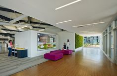Design Blitz have completed the One Workplace Headquarters in Santa Clara, California.