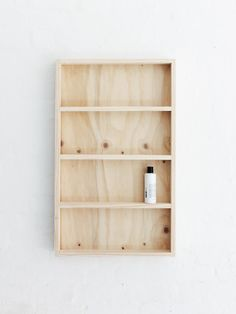 DIY shelving plywood