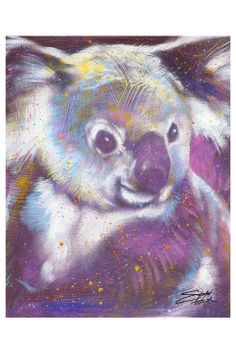 I like, probably b/c its a koala bear and its cute but different. Stephen Fishwick Window of Opportunity, Limited Edition Giclee - Beyond the Rack Koala Craft, Fantastic Art, Mixed Media Canvas, Canvas Artwork, Online Art Gallery, Art Pictures, Pet Birds, Illustration Art, Drawings