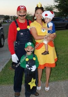 Wow. Thier halloween costumes are pretty cool.