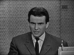 ▶ What's My Line? - Horst Bucholtz; Buddy Hackett [panel]; Martin Gabel [panel] (Feb 18, 1962) - YouTube