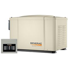 Generac PowerPact™ 7kW Home Standby Generator System (50-Amp 8-Circuit ATS) Model 6519