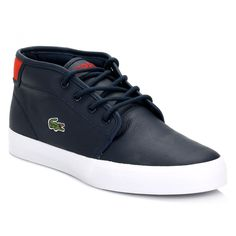 Lacoste Mens Dark Blue Ampthill SEP Chunky Trainers