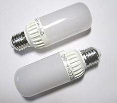 Ampoule LED E27 Lampe Compacte – seulement Diamètre 45 mm, longueur 128 mm seulement – 175–275 V – 790 lm Blanc chaud 3000 K à 9 W. Idéal pour la maison antichambres – 2 Set.: Amazon.fr: Luminaires et Eclairage