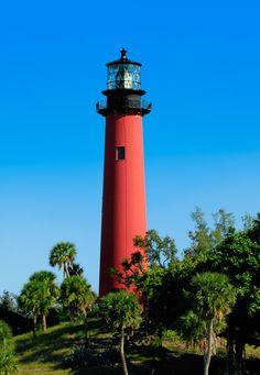 florida lighthouses | JUPITER INLET LIGHTHOUSE