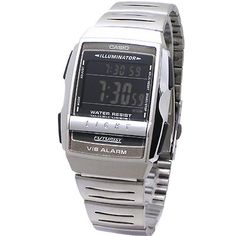 Casio - A220W-1BQD - Men - FUTURIST - ILLUMINATOR - Vibrating Alarm - Quartz LCD - Steel Bracelet Reviews - http://www.cheaptohome.co.uk/casio-a220w-1bqd-men-futurist-illuminator-vibrating-alarm-quartz-lcd-steel-bracelet-reviews/