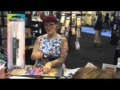 Dyan Reaveley CHA 2016 Demo | Ranger Ink and Innovative Craft Products