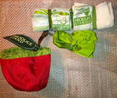 A Paperless Kitchen Review of the ChicoBag Produce Stand Starter Set