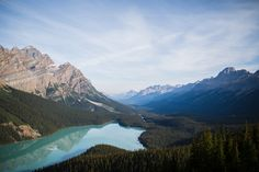 Peyto Lake along the Icefields Parkway by Vian Esterhuizen
