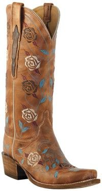 Lucchese classic cowgirl boots.