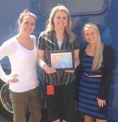 Congratulations to Standard Register on your membership in the Lifesaving Ambassadors Club! CBC Rep. Donna Teuscher presented the award to Erin Epply, blood drive coordinatdor Jessica Brown & Amanda Benjamin.