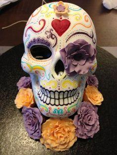 sugar skull cake - Google Search