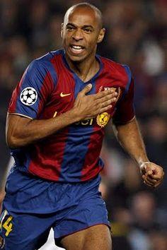 Thierry Henry, Barcelona. #Henry #Barca #Barcelona