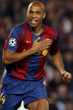 Thierry Henry - Barcelona.