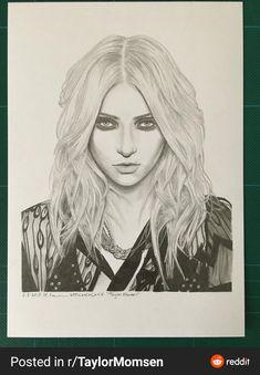 Taylor Momsen, Pencil Portrait, Alien Logo, Nice Tops, Art, Art Background, Kunst, Performing Arts, Art Education Resources