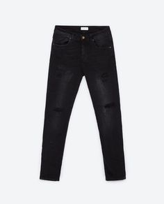 Image 6 of SKINNY FIT JEANS from Zara