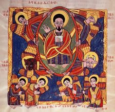 ethiopian orthodox art | Ethiopian icons | Sacred Art Pilgrim Collection: Schools of Art ...