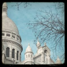 view of sacre coeur in winter