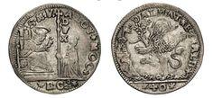 NumisBids: Numismatica Varesi s.a.s. Auction 67, Lot 465 : VENEZIA ALVISE II MOCENIGO (1700-1709) Mezzo Leone da 40 Soldi...