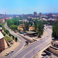 This photo taken from my former university #ASUE a.k.a. #JOX #armenia #yerevan #streets #street #fountain #city #Армения #erevan #ереван #лето #туризм #summer #traveling #travel #instatravel #Հայաստան #nofilter #byme #skyporn #skylovers #sky #walking #hot #view #archilovers #architecture #archidaily #buildings by akasuntura