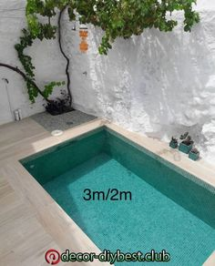 3 2 # # tief - in 2020 Small backyard pools Small pool design Backyard pool designs Small Swimming Pools, Small Backyard Pools, Backyard Patio Designs, Small Pools, Swimming Pools Backyard, Swimming Pool Designs, Pool Landscaping, Backyard Ideas, Patio Ideas