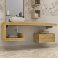 Bathroom Decorating – Home Decorating Ideas Kitchen and room Designs Bathroom Vanity Units, Loft Bathroom, Guest Bathrooms, Bathroom Kids, Bathroom Furniture, Small Bathroom, Minimalist Bathroom Design, Modern Bathroom Design, Bathroom Interior Design