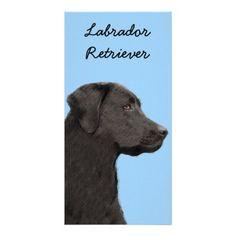 #Labrador Retriever (Black) Card - #labrador #retriever #puppy #labradors #dog #dogs #pet #pets